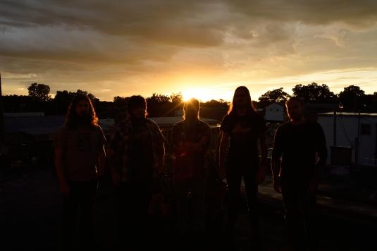 Minsk - press sunset