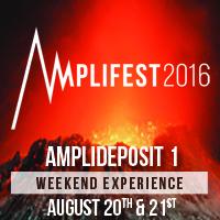 AMPLIFEST 2016 WE: Deposit 1 (until 30/04)